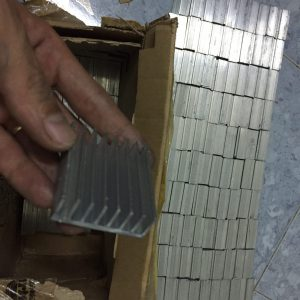 Tản nhiệt nhôm 50*43*17mm