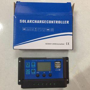 Module điiều khiển sạc pin năng lượng mặt trời (30A). tặng 1 bóng led 3w-12v